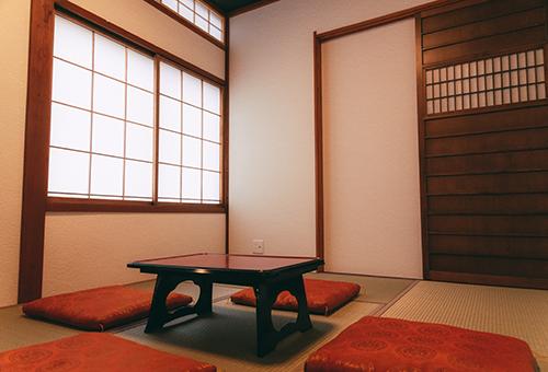懐かしい畳の部屋